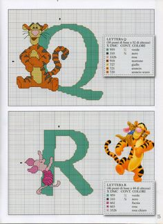 (3) Gallery.ru / Фото #2 - Disney Punto Croce n.47 - peperina75 Cross Stitch Fairy, Cross Stitch Kits, Cross Stitch Charts, Baby Cross Stitch Patterns, Cross Stitch Alphabet, Embroidery Fonts, Cross Stitch Embroidery, Disney Stitch, Disney Crafts