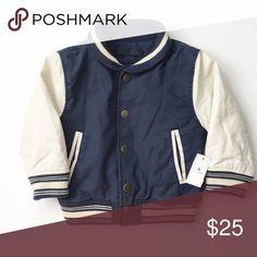 NWT BabyGap Letterman Jacket NWT GAP Jackets & Coats