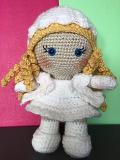Ravelry: Weebee Mix and Match Doll pattern by Laura Tegg