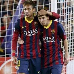 Neymar Jr. And L.Messi #Barca Messi And Neymar, Lionel Messi, Paris Saint Germain Fc, Love You Babe, Z Boys, National Football Teams, Soccer Stars, Soccer Players, Soccer Cleats