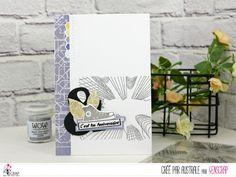 "Australe : Tampons & matrices de coupe (dies) #4enscrap ""Ville"" Tampons, Cardmaking, Card Ideas, Birthday Cards, Sketch, Paper Crafts, Scrapbook, Paris, London"
