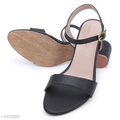 Others Bella Toes Women Block Heels Sandals_904 Black Material: Syntethic Leather Sole Material: PU Sizes:  IND-7 IND-6 IND-8 IND-3 IND-5 IND-4 Country of Origin: India Sizes Available: IND-8, IND-3, IND-4, IND-5, IND-6, IND-7   Catalog Rating: ★4.1 (1205)  Catalog Name: Modern Graceful Women Heels & Sandals CatalogID_1090967 C75-SC1061 Code: 045-6835228-999