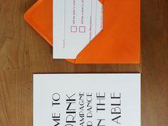 Letterpress Wedding Invitation and RSVP card - Wolf & Ink Letterpress Wedding Stationery, Rsvp, Wolf, Ink, Cards, Prints, Inspiration, Biblical Inspiration, Wolves