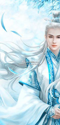 elven warrior, Aeolus's hair?
