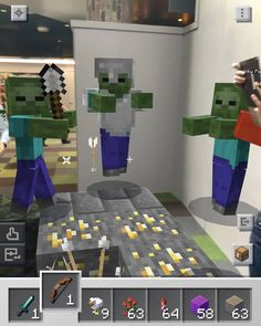 #minecraft  #minecraftearth  #games  #game Minecraft Earth, Studios, Pasta, Games, Perfect Game, Minecraft Stuff, Gaming, Plays, Game