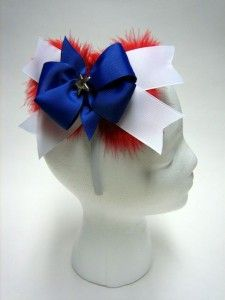 How to Make a Patriotic Hair Bow