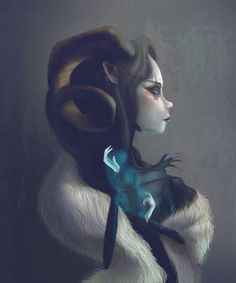 Endora - Afterland character by Sarita Kolhatkar for Imaginary Games #Afterland #ImaginaryGames #SaritaKolhatkar