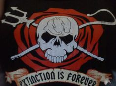 Extinction is forever. Support Sea Shepherd