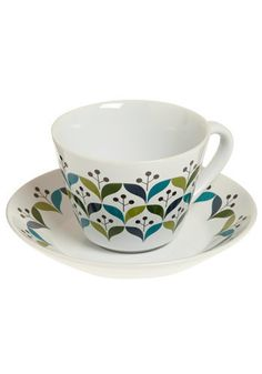 70s cup & saucer