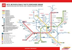 Milano, Italy (with new subway line)
