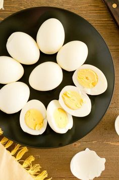 These easy Instant Pot Hard Boiled Eggs cook in 15 minutes. They cook perfectly every time and are super easy to peel. Perfect for snacks or appetizers. via @NeliHoward