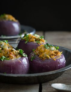 Mexican stuffed onions