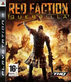 RED FACTION: GUERRILLA -  The player takes the role of Alec Mason as he assists the Red Faction to overthrow the oppressive Earth Defense Force (EDF) on Mars. This is presented to the player from a third-person perspective. Developer Volition changed the camera perspective to help the player see and appreciate the surroundings as they are destroyed.