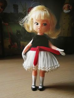 Dolly Darling 1965 ~ I had several of these cute dolls, but this one was my favourite. Sweet memory <3
