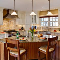 kitchen triangle shaped island ideas | curved kitchen island