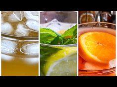 Domácí ledové čaje a citronáda - recepty - YouTube Youtube, Youtubers, Youtube Movies