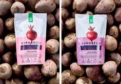 AUGA organic food on Behance