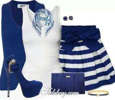 En azul rey
