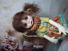 UFDC 2014 OOAK Wendy Weird Clown MSD BJD by NikkiBritt