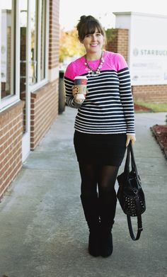 A Gap sweater as featured on the blog AJ Wears Clothes.