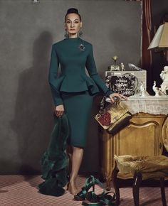 82 year old fashion model, Jacquie Tajah Murdock. Brilliant.