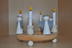 Swedish wooden candle holder Wooden Candle Holders, Candles, Design, Candy, Candle Sticks, Wood Candle Holders, Candle