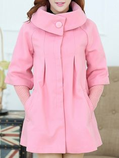 Women'  Slim  Overcoat Overcoats from stylishplus.com