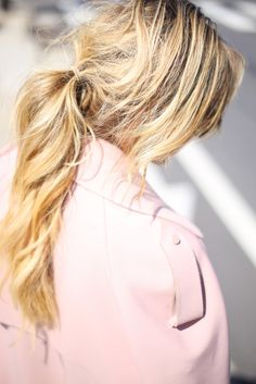 Happily Grey | http://www.happilygrey.com | @John Hillin  photography #messyponytail