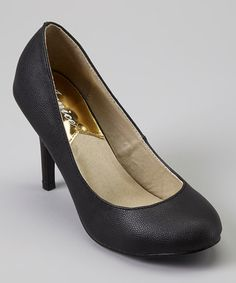 Love this Black Grace Pump by Janice on #zulily! #zulilyfinds