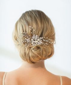 Wedding Hair Combs   Check out the style 2018 brides will be wearing down the aisle.