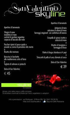 Non sapete dove portare la vostra #Donna  a #SanValentino ? Skyline Caffè vi offre due diversi tipi di #Aperitivi ! #Aperitivo  di #terra  o di #mare ?   #RistoranteRimini   #RistorantePesce   #ApertivoPesce   #AperitivoTerra   #Rimini   #SanValentino   #Buffet   #Pesce   #Frutta   #Carne   #Pranzo   #Cena