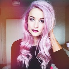This hair colour is beautiful but i'm not brave enough and I don't think work would be very impressed!