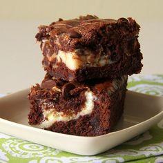 Easy Cream Cheese Swirl Brownies