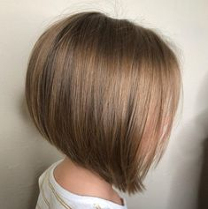 50 Cute Haircuts for Girls to Put You on Center Stage Cute Inverted Bob for Fine Hair Related posts:Best New Bob Hairstyles Trendy Short Bob Haircuts for Female, Best Short Hair Styles 2019 Cute Short Haircuts Bob Haircut For Girls, Little Girl Haircuts, Bob Hairstyles For Fine Hair, Short Bob Haircuts, Hairstyles Haircuts, Cool Hairstyles, Medium Hairstyles, Girls Short Haircuts Kids, Short Girl Hairstyles