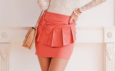 love this bow skirt