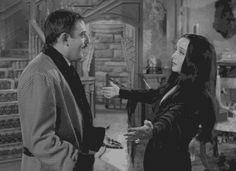 Gomez And Morticia Addams Have The Best Marriage Ever Morticia Addams, Gomez And Morticia, The Addams Family 1964, Adams Family, Family Tv, Family Values, Ghibli, Charles Addams, Carolyn Jones