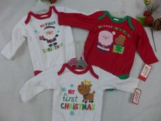Christmas Baby One Piece My First Christmas Infant New