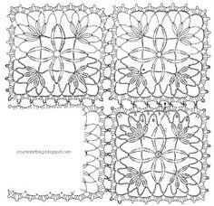 Crochet Art: Tablecloth - Crochet Lace Tablecloth free pattern