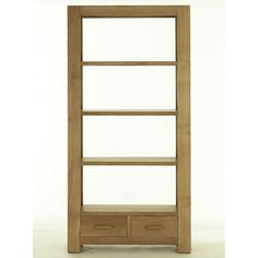 This Kaldors Chunlate Natural Oak Finish Large Bookcase - Intenal Shelves Included is a Strikingly styled contemporary oak, this collection epitomises modern living with its bold lines oozing confidence. Featuring solid oak and real oak veneers to bring e Bookcase With Drawers, Large Bookcase, Wooden Bookcase, Bookcases, G Plan Furniture, Dining Room Furniture, Home Furniture, Solid Wood Cabinets, Affordable Furniture