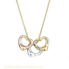 Tiffany & Co Outlet Elsa Peretti Open Heart Necklace