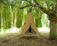treepee: Exciting new product that combines the timeless appeal of a tree house with the practicalities of an all weather tent, as well as the excitement of Aerial suspension to create a whole world of possibilities.