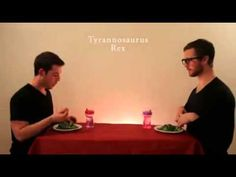 How to eat like an Animal... I laughed so hard even though it was so silly.