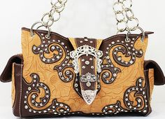 BEAUTIFUL BROWN RHINESTONE HANDBAG. Available in different colors! #Handbag #Sale #Bling