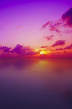 That sunset tho.