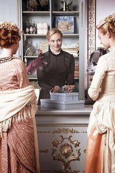 Joanna Vanderham as Denise Lovett in The Paradise (TV Series, 2012).
