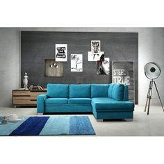 Fabric corner sofa beds : Capri Fabric corner sofa beds