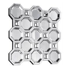 Elegant Furniture & Lighting Modern Wall Mirror - 43.3W x 43.3H in. | from hayneedle.com