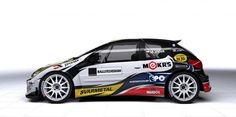 Svarmetal Motorsport - M. Vlček (Peugeot 206 Kit Car) - design and wrap for season 2012.
