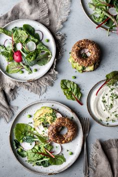 Vegan Cream Cheese Bagels – Delight Fuel