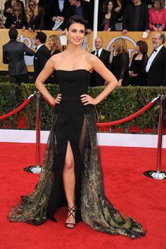 Todas las fotos de la alfombra roja de los Screen Actors Guild Awards 2013: Morena Baccarin de Basil Soda   Galería de fotos 23 de 34   Vogue